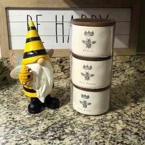 👑 🐝 queen bee happy bee kind Stackable Cellars
